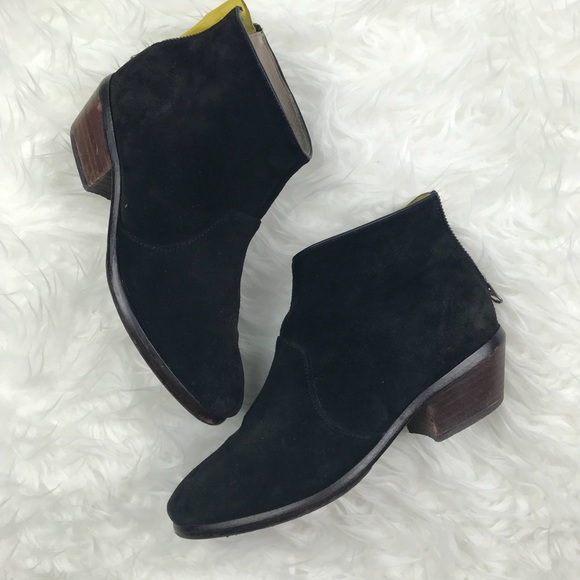 Low Heel Suede Ankle Boots | Poshmark